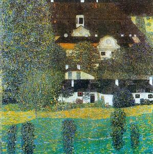 Замок Чамбер на Аттерзее, Климт Густав, 1909