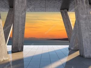 Архитектурный дизайн террасы