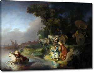 Рембрандт. Похищение Европы