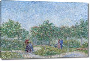 Ван Гог. Сад с влюбленным парами, сквер Сент Пьер