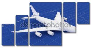 План коммерческих самолетов