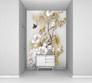 Фея дерево с белыми цветами