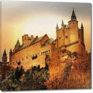 Испанский старинный замок