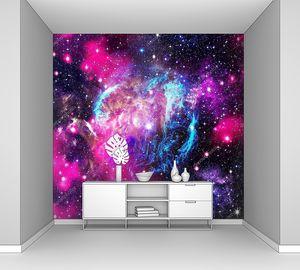 Глубокий космос. Природные Абстрактные фоны