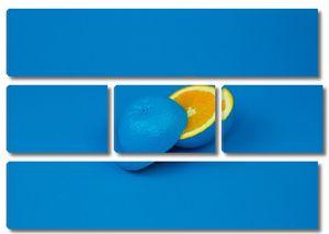 Голубой апельсин