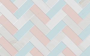 Керамическая плитка в сером, синем и розовом