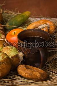 деревенский перекус