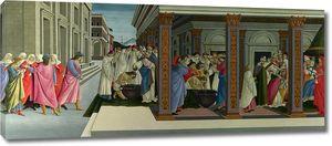 Боттичелли. Сцены из жизни святого Зиновия