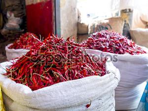красочные специи в Бангладеш