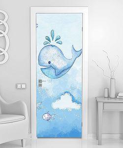 Голубой кит в небе
