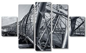 Спираль мост
