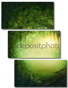 очарованный лес.