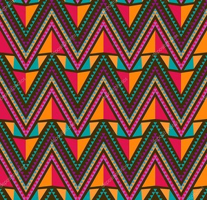 Геометрический этнический орнамент