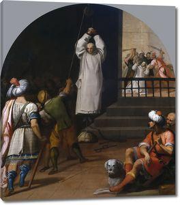 Кардучо Висенте. Мученичество отца Андрея, настоятеля монастыря