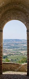 Вид из окна старой крепости