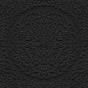 Бесшовный цветочны Векторные иллюстрации