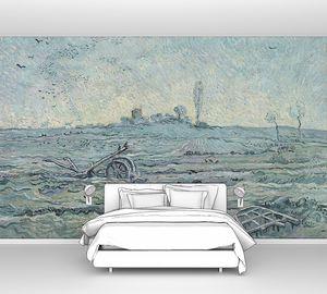 Ван Гог. Плуг и борона (копия Милле)