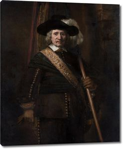 Рембрандт. Знаменосец (Флорис Суп