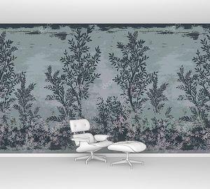 Орнамент из оливковых деревьев