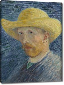 Ван Гог. Автопортрет в соломенной шляпе