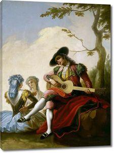 Байеу и Субиас Рамон. Гитарист