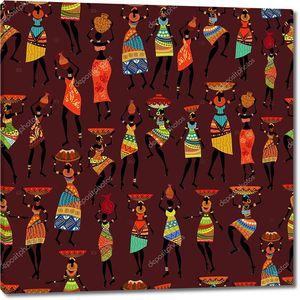 Абстракция. Африканские женщины