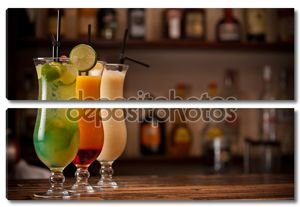 Три коктейли