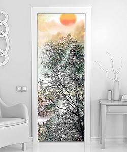 Восход над деревьями