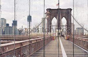 Мост в Нью-Йорке