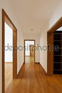 красивый интерьер, коридор