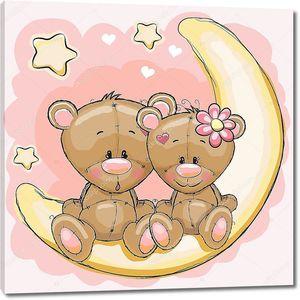 Два медведя на Луне