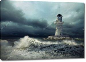 Маяк в шторм