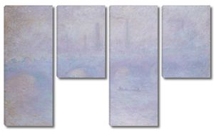 Клод Моне. Мост Ватерлоо. Эффект тумана