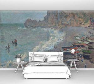 Клод Моне. Этрета, пляж и порт Амон