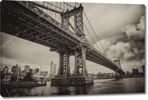Манхэттенский мост, Нью-Йорк Сити.
