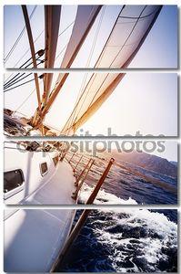 Роскошные яхты в действии