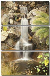 Японский Дзен сад поток