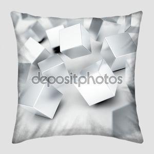 Серый металлик кубов
