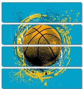 гранжевый баскетбол