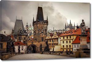 Знаменитый мост в Праге