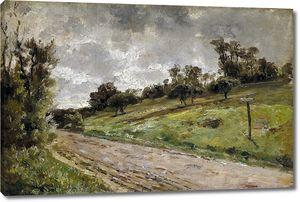 Аэс Карлос де. Дорога близ Виллервиля в Нормандии