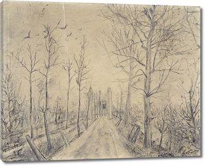 Ван Гог. Подъездная дорога