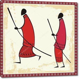 Африканкие воины