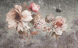 Цветы. Декор по штукатурке