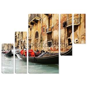 Традиционная Венеция gandola поездка