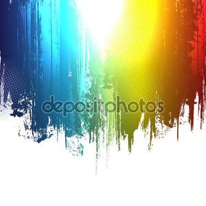 градиент краска брызги фон. Векторный eps10 эффект.