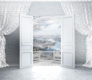 Вход на балкон