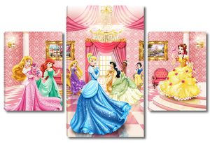 Для девочек - принцессы на балу