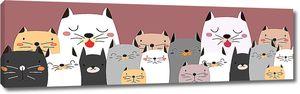 Разнообразные коты