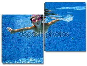 Подводный Детские развлечения и игры в бассейне